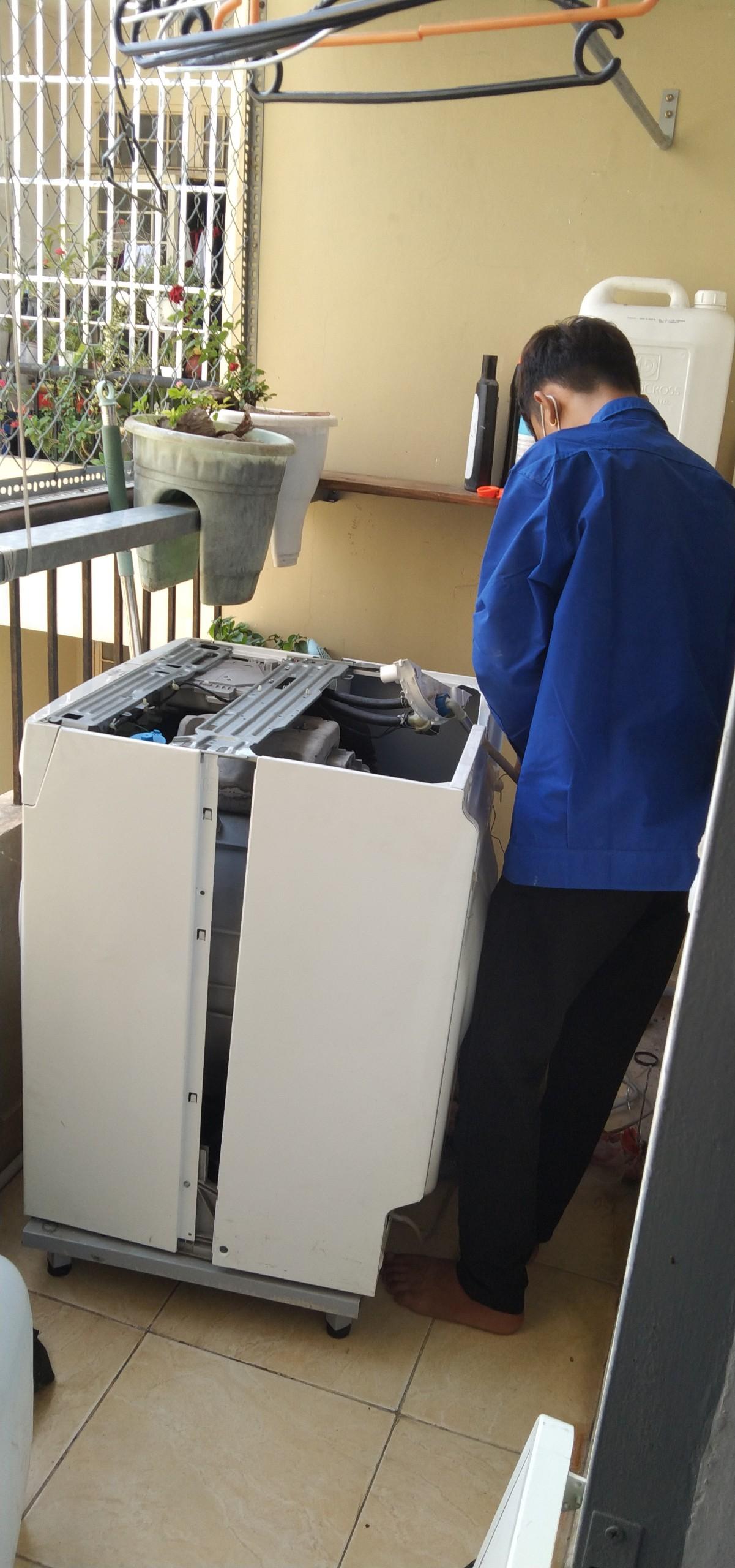sửa máy giặt tại Dĩ An
