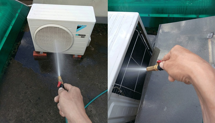 Dịch vụ bảo dưỡng máy lạnh tại Dĩ An