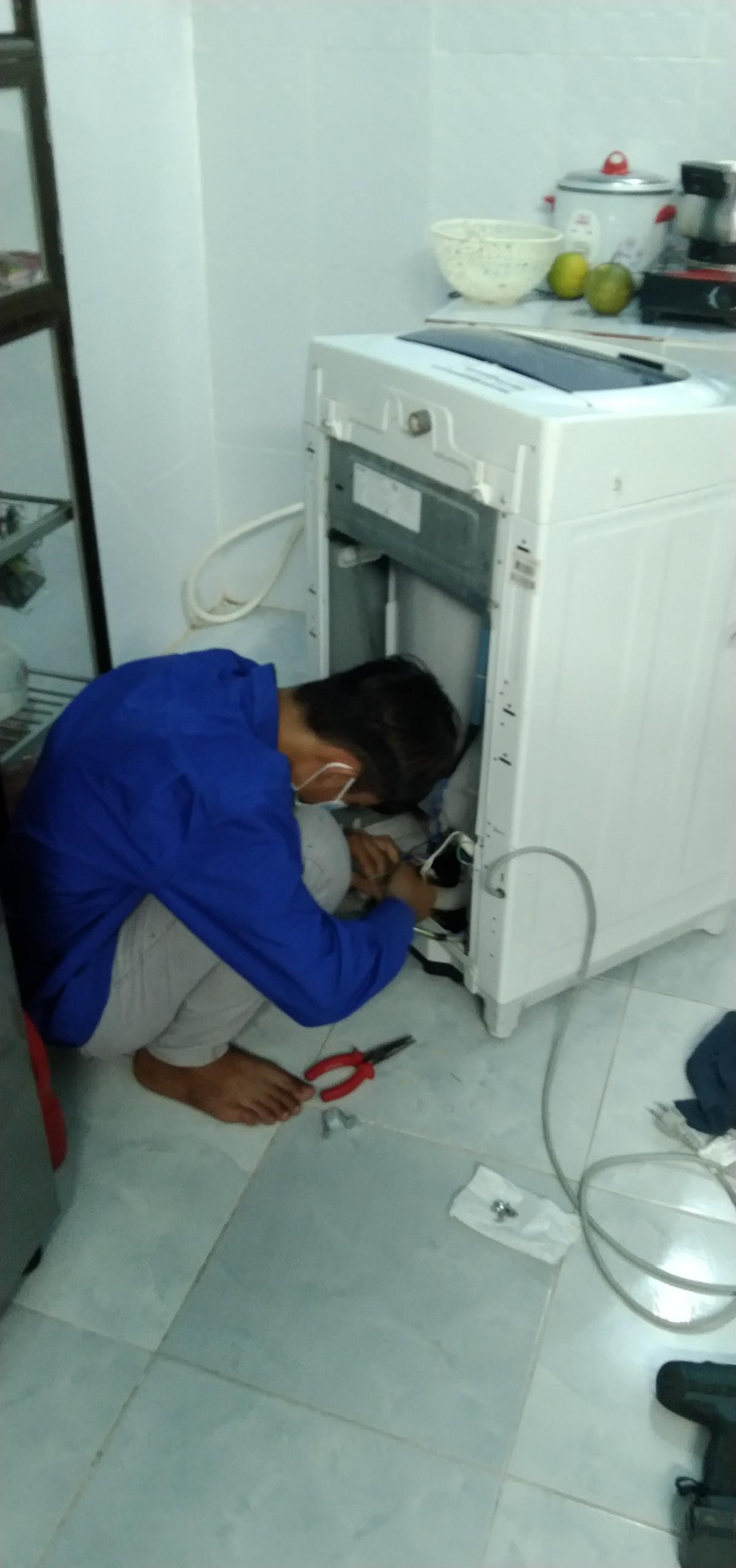 vệ sinh máy giặt tại Bình Dương