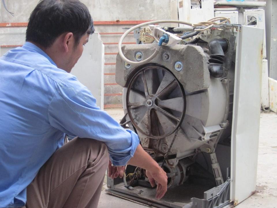 Dịch vụ thợ sửa máy giặt tại Bình An Dĩ An