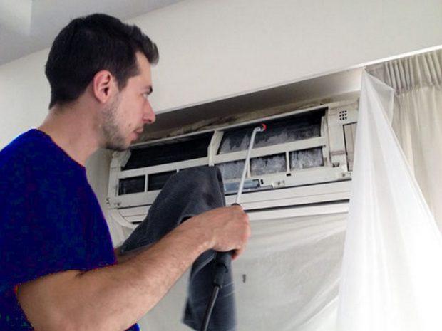 Dịch vụ vệ sinh máy lạnh tại Thuận An Bình Dương