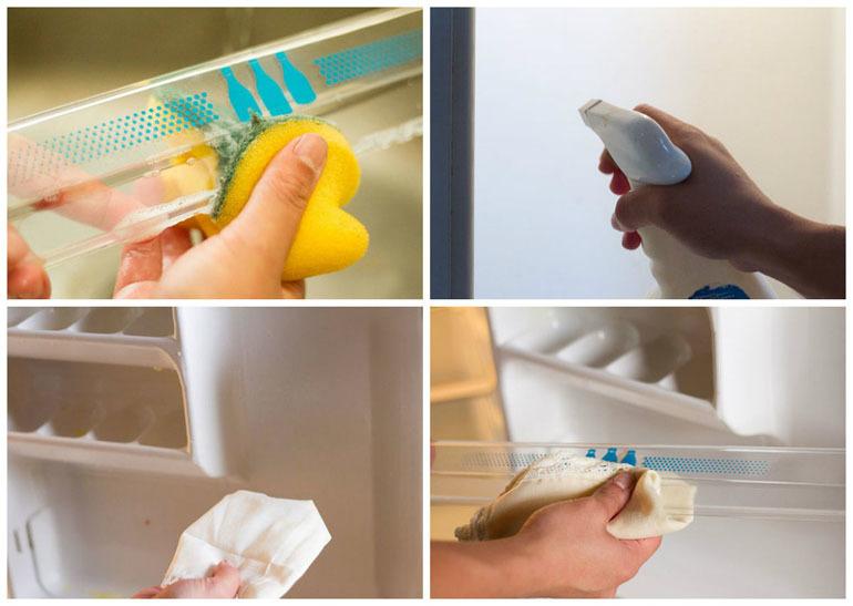 Dịch vụ vệ sinh tủ lạnh tại nhà Bình Dương giá rẻ